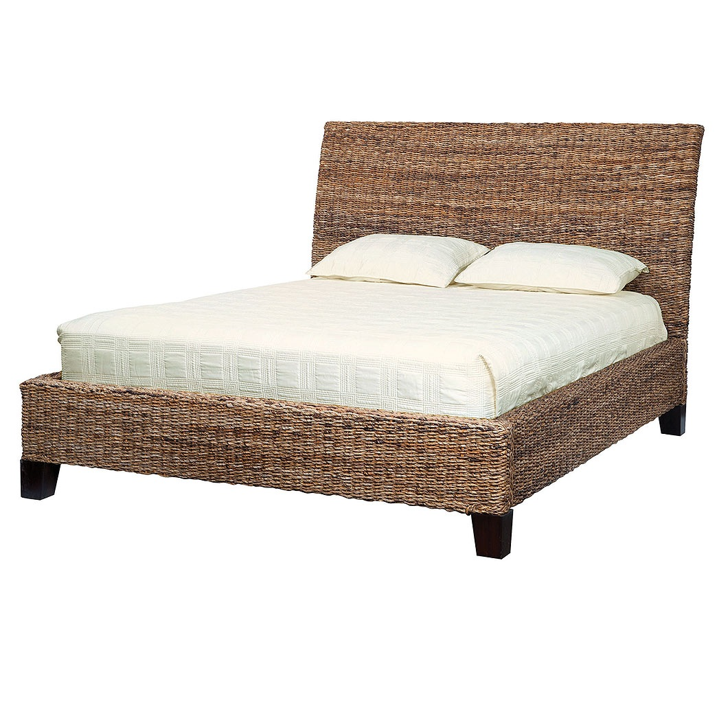 Bedroom wicker bedroom furniture for Beds and furniture