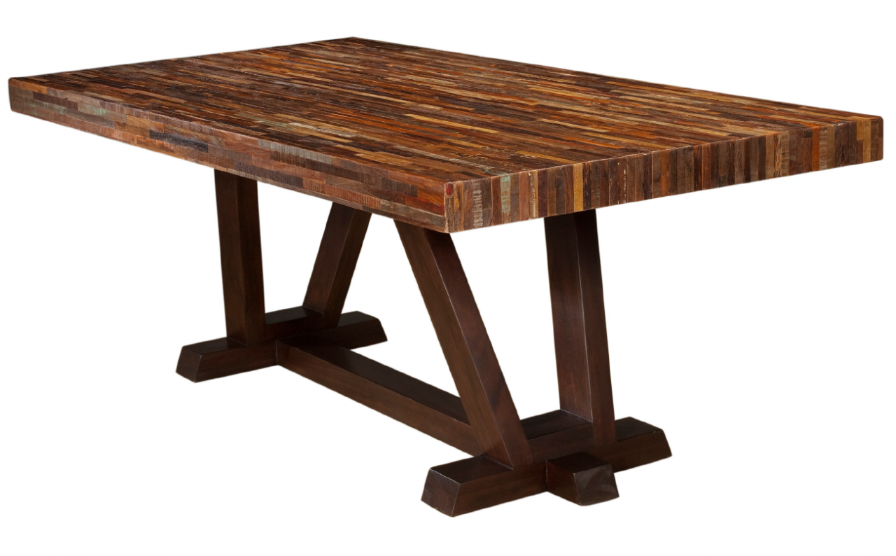 reclaimed peroba wood furniture zin home blog