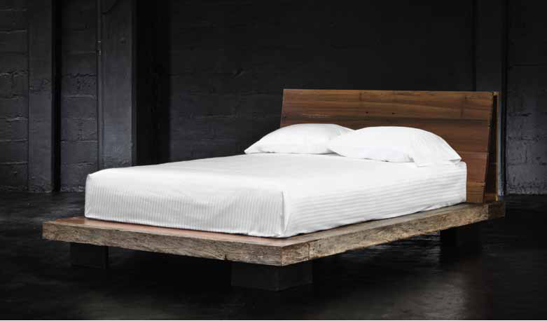Reclaimed Wood Contemporary Platform Beds | Zin Home Blog