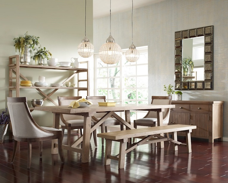 Top 5 style dining room designs zin home blog for Best farmhouse dining rooms
