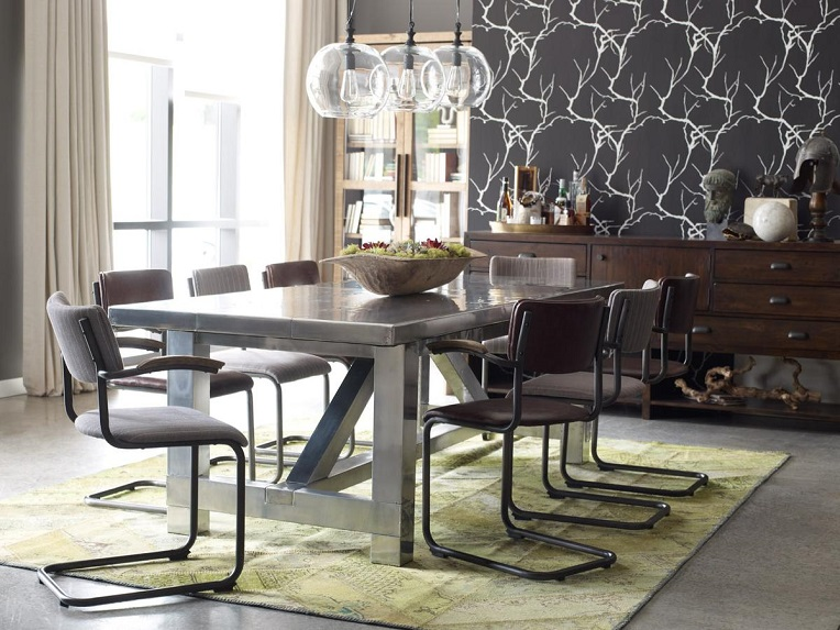 1 Love The Eclectic Look Dining Room Design