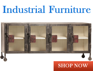 modern and vintage style industrial furniture