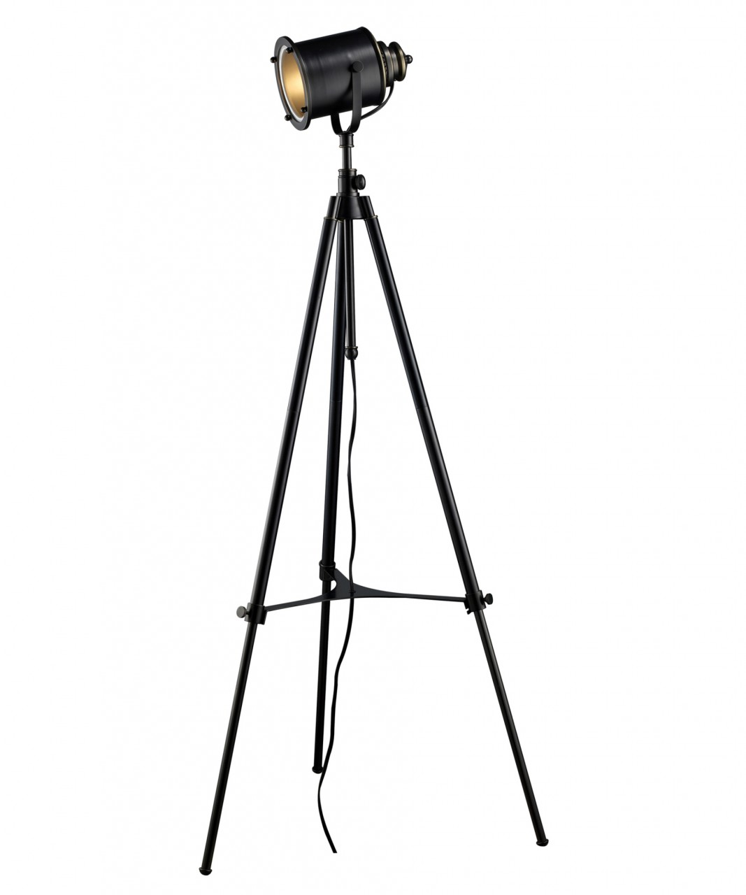 Restoration Black Studio Floor Lamp Zin Home Blogzin