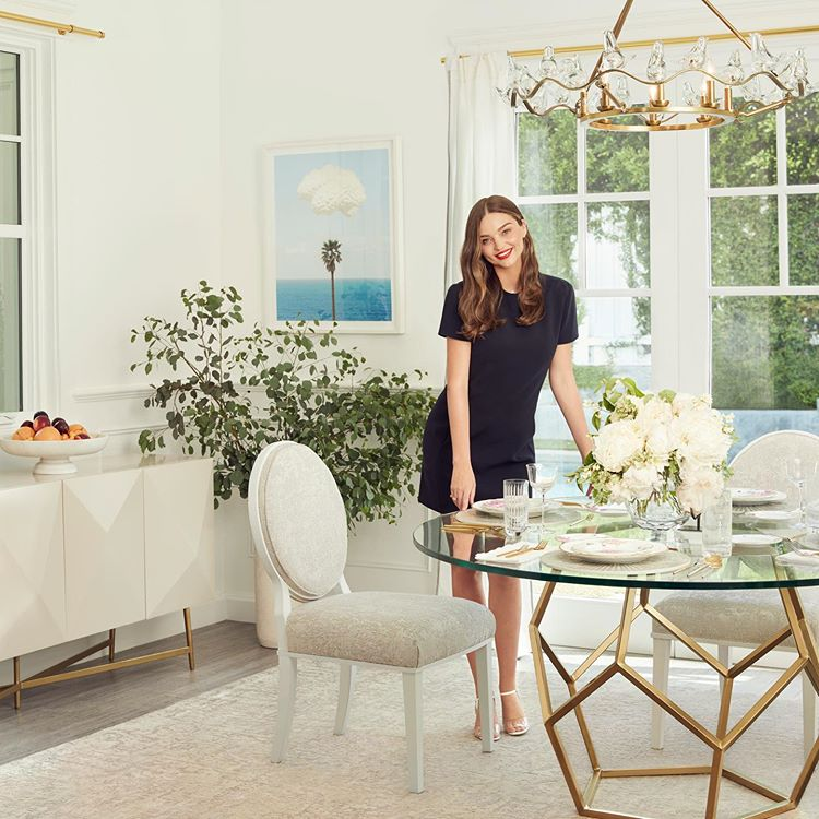 Miranda Kerr Dining Room Furniture