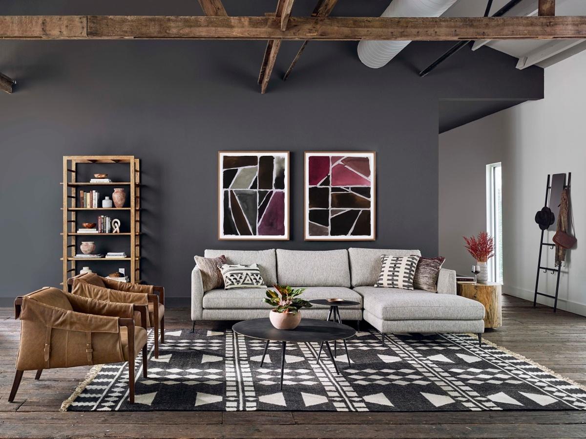 Shop The Look Artisan Eclectic Loft Living Room Zin Home