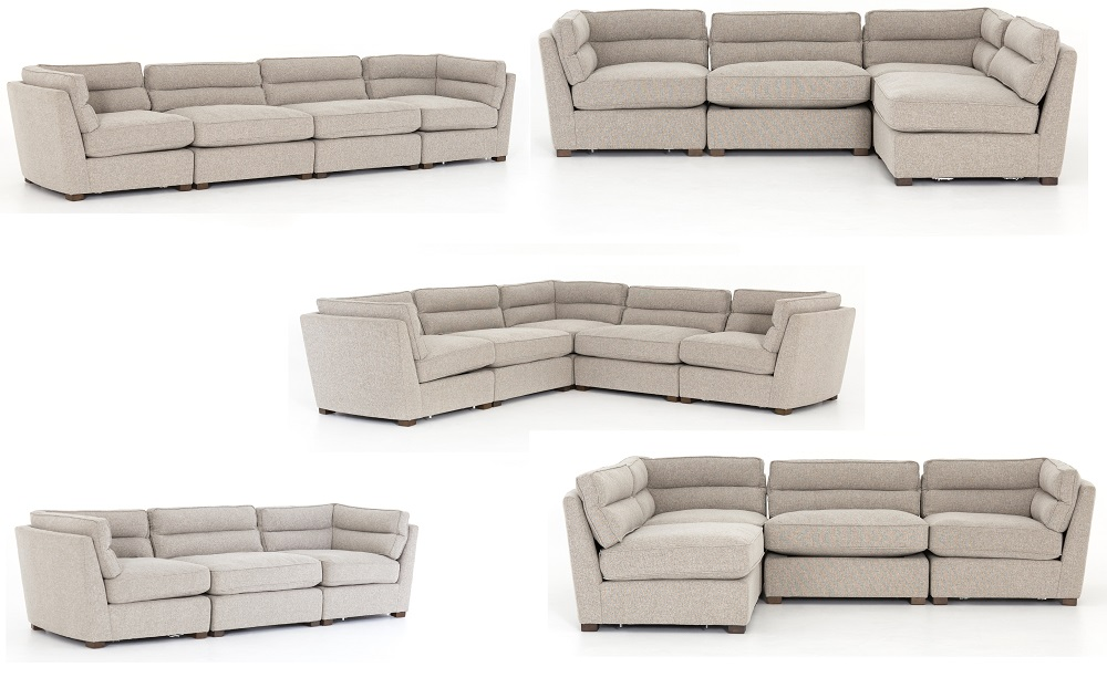 Connell Channel Back Modular Couch System