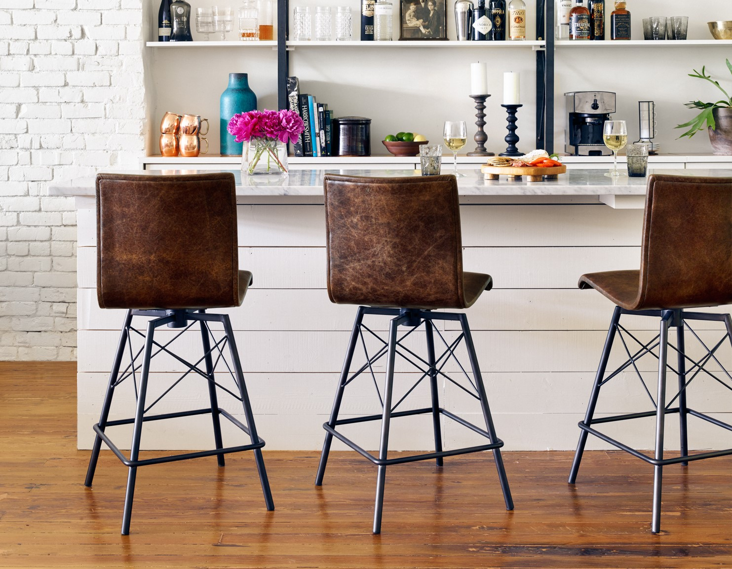 Wondrous A Guide To Buy Counter And Bar Stools Zin Home Ocoug Best Dining Table And Chair Ideas Images Ocougorg
