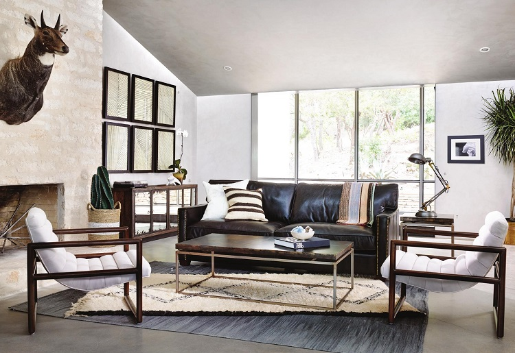 Live The Moment Living Room Design