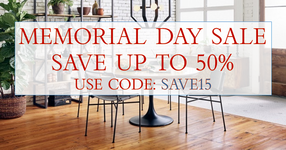 Memorial Day Sale: SAVE15