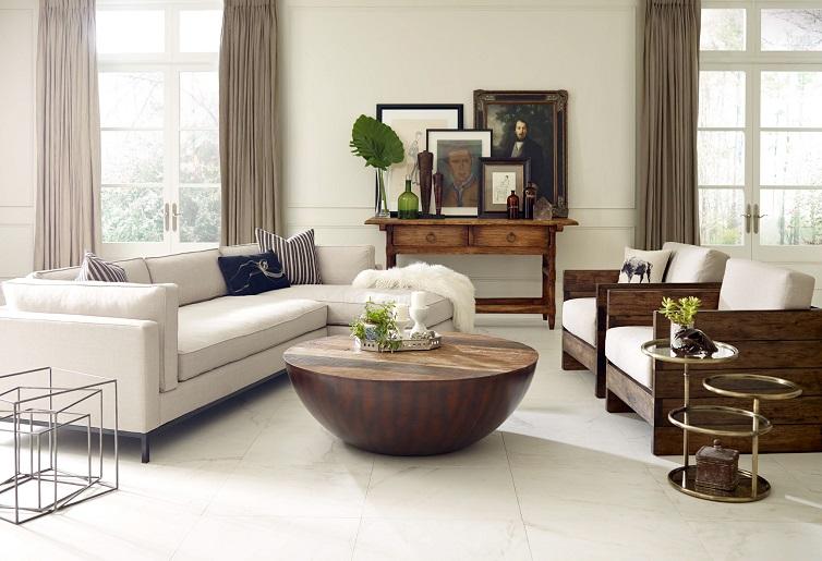 Old Hollywood Glamour Living Room Design