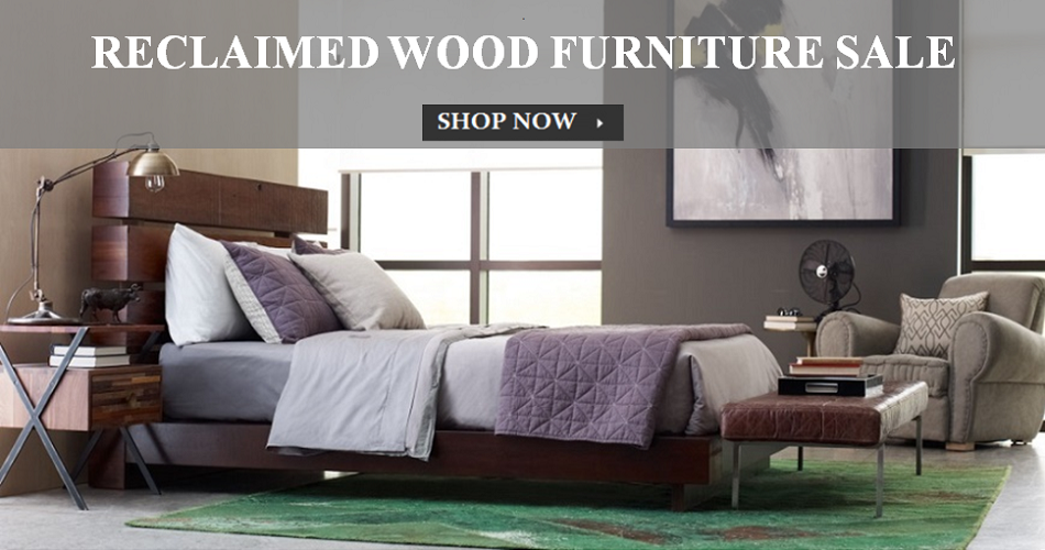 Thomas Bina Reclaimed Wood Furniture USE Code: BINA10