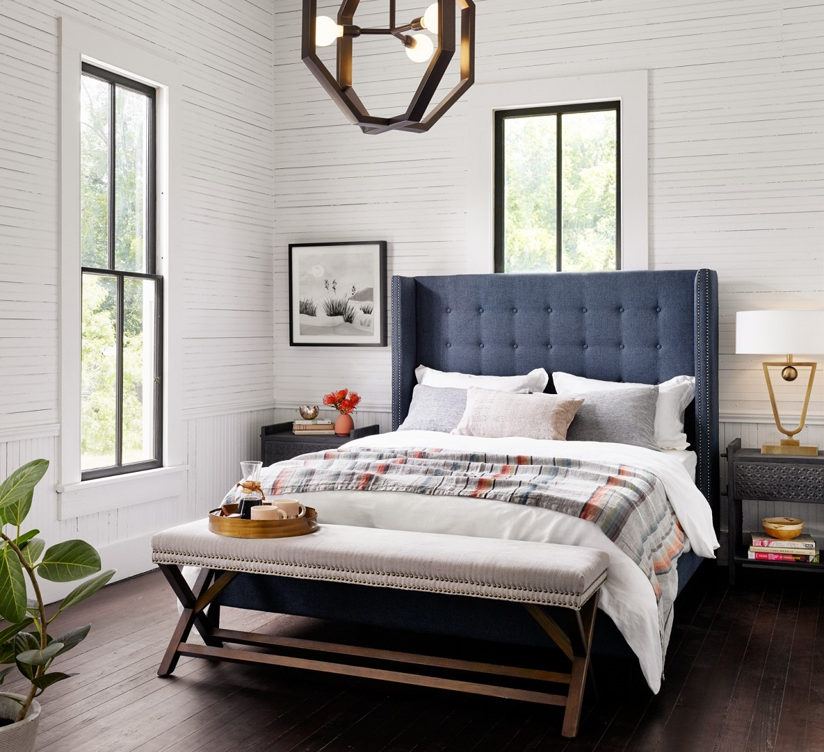 Shop The Look: Modern Farmhouse Bedroom - Zin Home