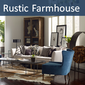 Vintage and Rustic Farmhouse Lodge Furniture