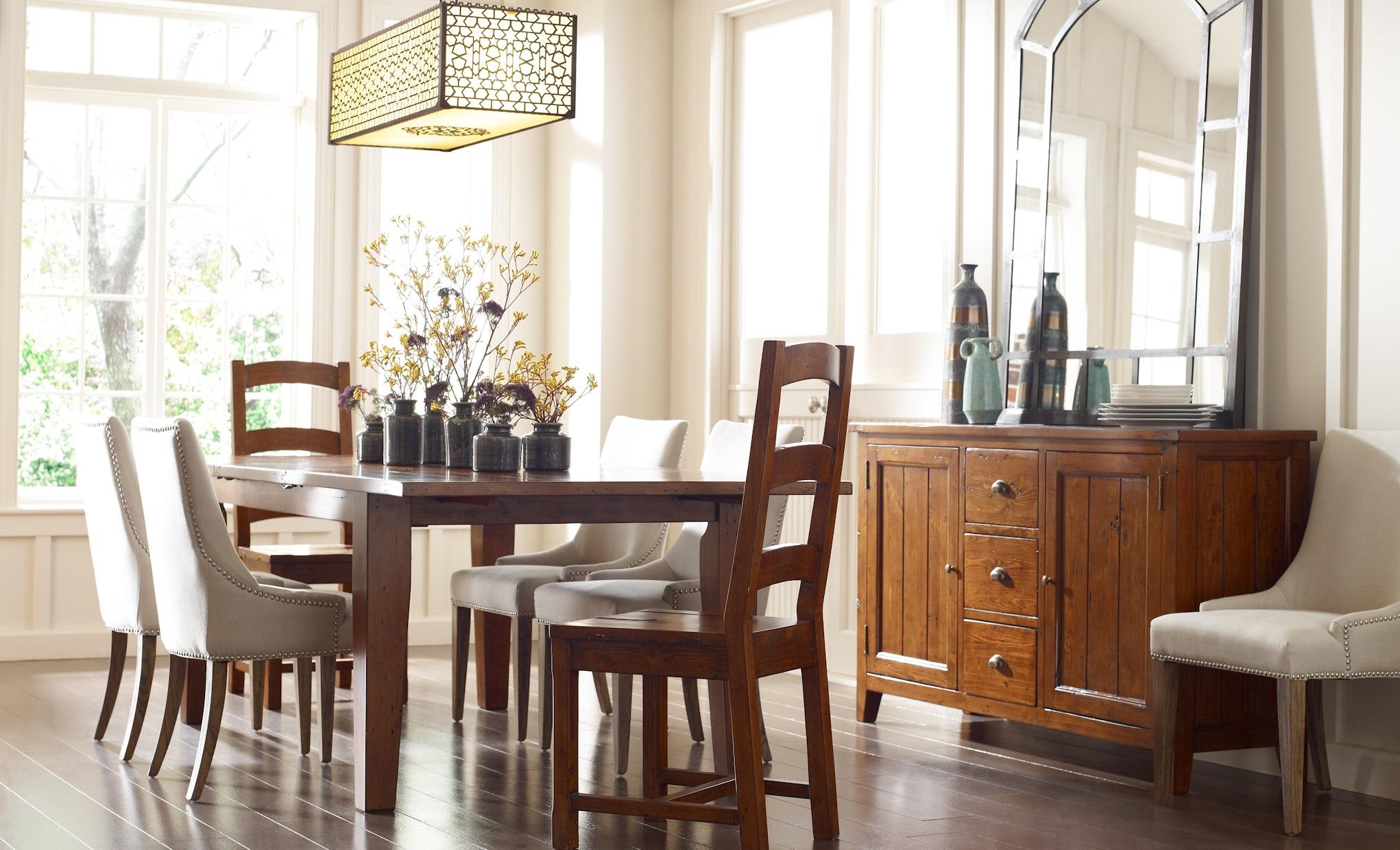 Coastal Beach Dining Room Design