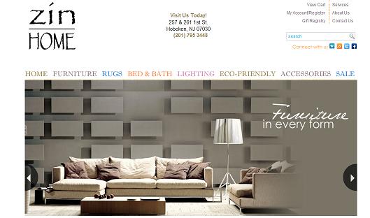 Hoboken Furniture Store Zin Home Zin Home Blog